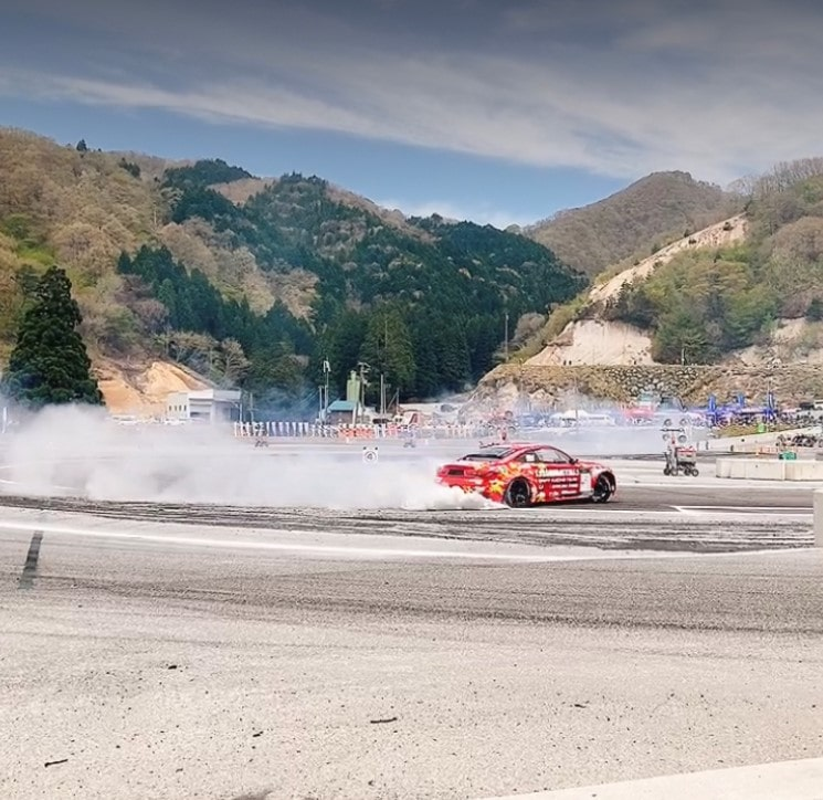 D1グランプリ2021&スポンサードカー観戦@奥伊吹7